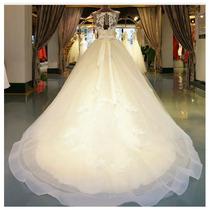 Vestido De Noiva Rodado Tulê Invisivel Calda Longa Luxo