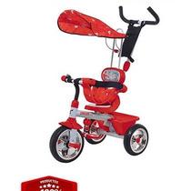 Triciclo Carrito 3 En 1 Mega Biemme 3 Ruedas !! Importado !