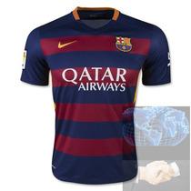Jersey Barcelona Roja Azul Nike 2016 Nueva Local Playera Ori