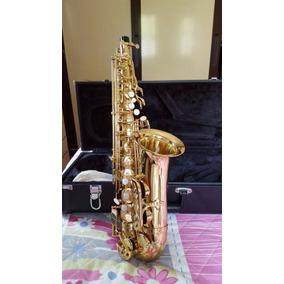 Sax Alto Eagle Sa 501 Laqueado Estojo Luxo + Brindes