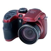 Câmera Digital Ge X500 16mp Lcd 2.7 Zoom 15x Sd 4gb Vermelha