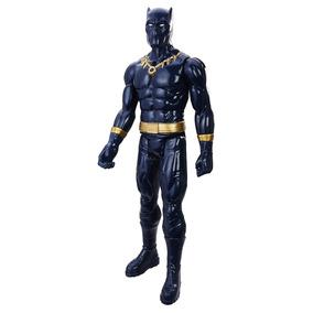 Boneco Vingadores Titan Hero 30cm - Pantera Negra C0759