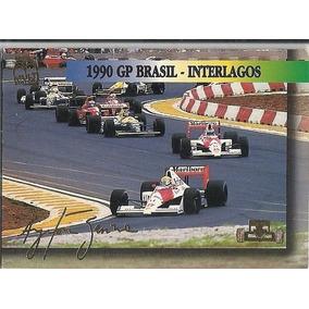 Card Ayrton Senna Gp De Interlagos 1990 N-13 (i)