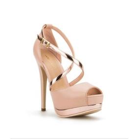 Hermosas Y Elegantes Zapatillas Fiesta Andrea Color Rosa
