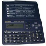 Agenda Eletrônica Casio Sf2000 Para 130 Telefones 12 Dígitos