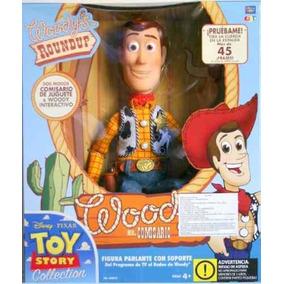 Woody El Comisario De Toy Story Figura Original De Colección