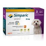 Simparic 2,6 A 5 Kg 10mg - Caixa 3 Comprimidos - Venc 06/18