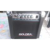 Amplificador Goldea Gf 10 Con Boton Para Distorsionador
