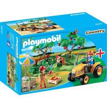 Starter Set Puesto De Fruta Con Tractor