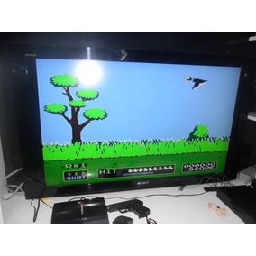 Polystation 3 Com 2 Controles+pistola+jogos Na Memoria