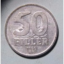 Hungria 50 Filler 1986 Muy Bueno Km 574