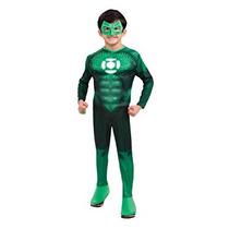 Disfraz Para Niños Traje De Linterna Verde Hal Jordan Niño