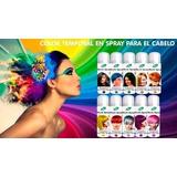 Tinte En Spray Temporal - Colores Fantasía Lavable