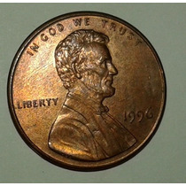 Eeuu Moneda De 1 Centavo Lincoln Año 1996