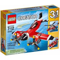 Lego Creator - Avião A Hélice 31047 - 3 Em 1 Pronta Entrega