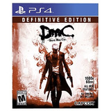 Dmc Devil May Cry Definitive Juego Ps4 Playstation 4 Stock