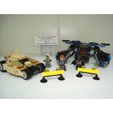 Batman Bane Comissário Gordon Tumbler The Bat Ressurge Lego