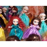 Princesas Disney Durmiente Frozen Sofia Merida Rapuncel