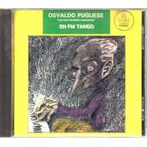 Osvaldo Pugliese En Fm Tango - Cd Original