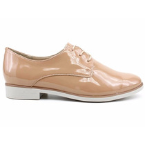 Sapato Oxford Couro Verniz Bottero Original 257105 Pixolé