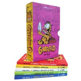 Box Garfield 05 Livros - Caixa Especial Garfield