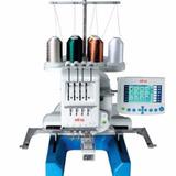 Máquina De Bordar Elna 9900 : 4 Agulhas / 4 Cores