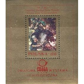Pintura - 18916 - Polonia - Pintor - Jan Zizka - Bloco