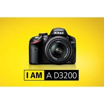 Camara Nikon D3200 Kit 18-55 Vr 24.2mp Full Hd Rosario