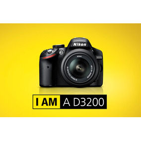 Camara Nikon D3200 Kit 18-55 Vr 24.2mp Full Hd Rosario