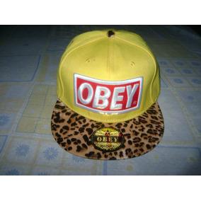 Boné Leopard Obey Importado A Pronta Entrega