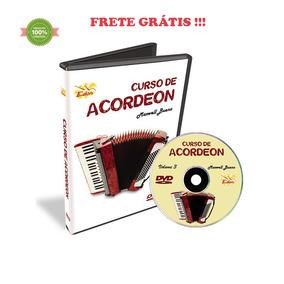 Curso Dvd Video Aula Acordeon Iniciante Maxwell Bueno Vol. 3