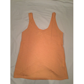 Remera Musculosa Mujer Ayres Color Salmon Claro. Talle S