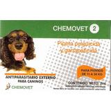 Pipeta Antipulgas Y Garrapatas Chemovet 2 (11 A 20 Kg) 10+1