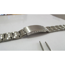 Pulseira Relógio Aço Inox 20mm-casio Orient Seiko Citizen