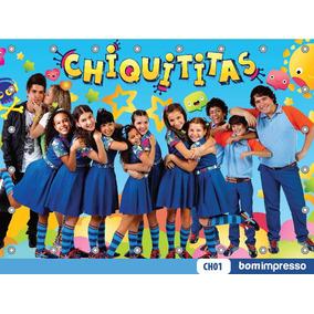 Painel Chiquititas 1,50x1,00m Lona Festa Banner