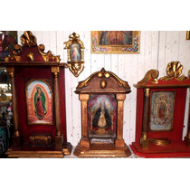 Hornacinas Arte Sacro En Madera Y Hoja De Oro Hermosas
