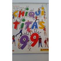 Álbum Chiquititas 99 Bom Estado Incompleto