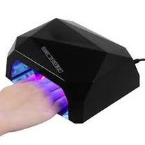 Lámpara Led Y Uv De 36 Watts Uñas Acrílico Gelish + Envio