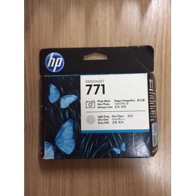 Cabeça De Impressão Hp 771 Photo Black/light Gray Ce020a