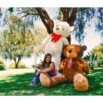 Urso Ursinho De Pelúcia Macia Teddy Bear Gigante 2 Metros