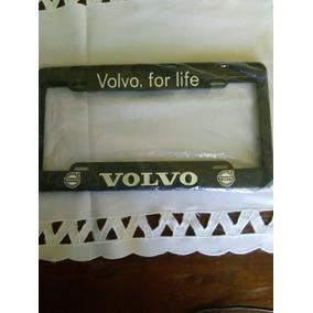 Porta Placa Volvo Reflejante