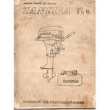 Manual Motor Fuera De Borda Zanella 9 1/2 H.p. Wz1