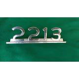 Emblema Caminhão 2213 Foto Real Do Produto