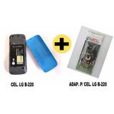 Celular Lg B-220 Dual Sim + Adaptar Rural Compatível