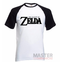Camiseta Raglan Zelda - The Legend Of Zelda - Relíquia
