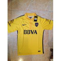 Boca Juniors Nike 2015-16 Laser Holes Talla S,m,l,xl