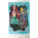 Princesa Ariel Canta Deluxe Limited Disney Store Usa