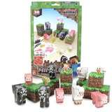 Minecraft Overworld Planchas Para Armar Figuras Animal Mobs