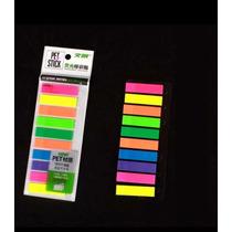 Post It Adesivo Colorido Lembrete Marcador 10 Cores