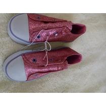 Zapatillas Con Brillos Simil Skechers Talles 19,5 A 28,5